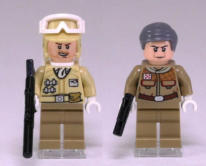 NEW LEGO Star Wars Hoth Rebel Officer Commander
