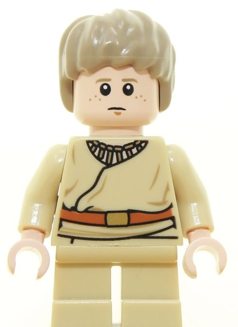 LEGO Star Wars Young Anakin Skywalker Minifigure new mnifig