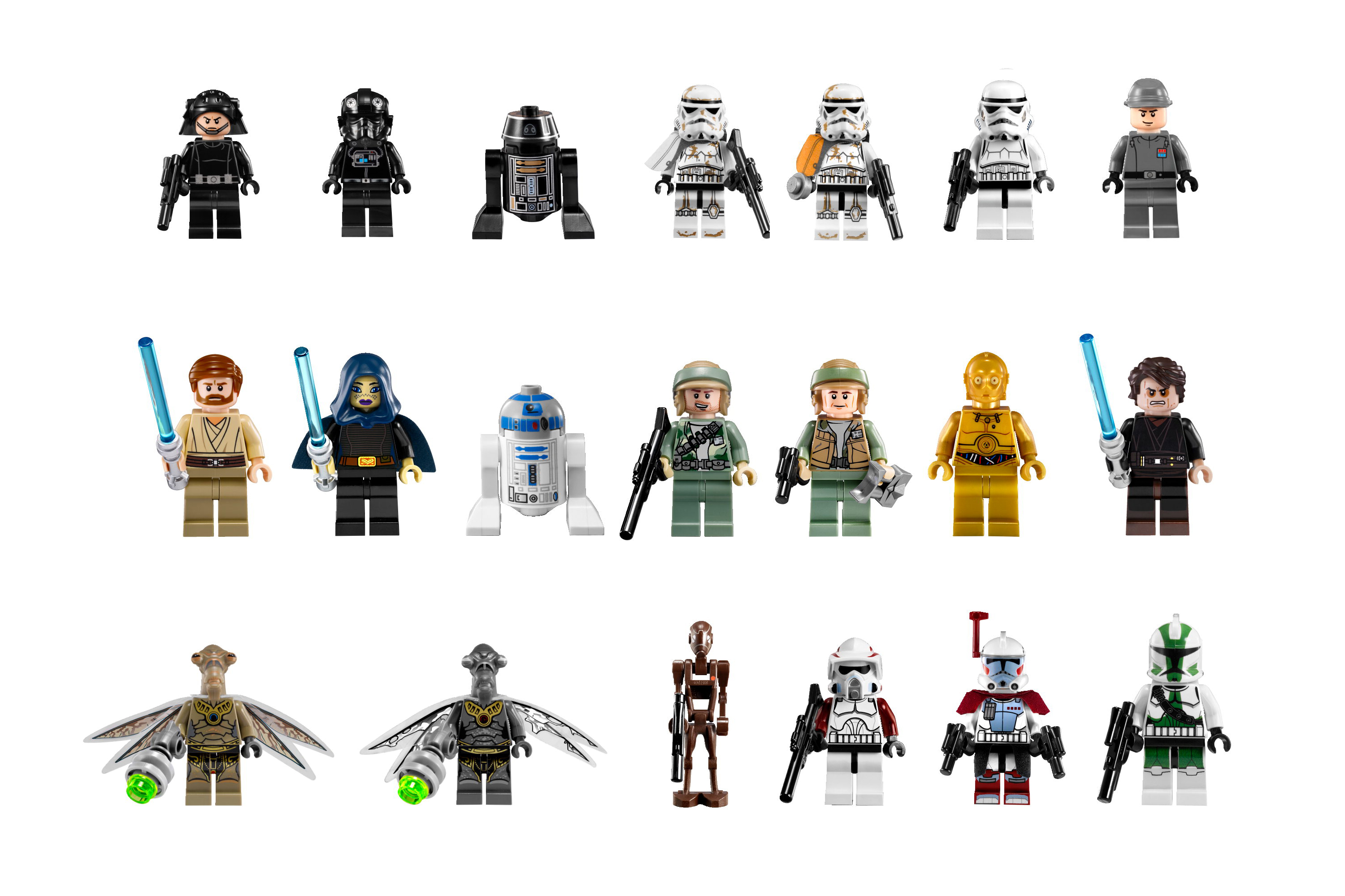 lego star wars minifigures brick toys lego blog. Black Bedroom Furniture Sets. Home Design Ideas