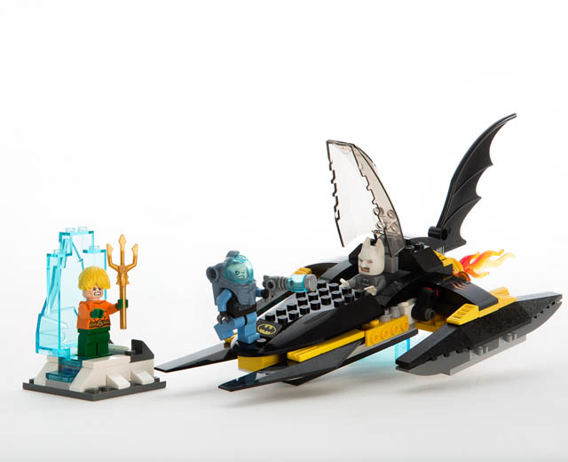 Review of LEGO 76000 — DC Super Heroes Arctic Batman VS. Mr. Freeze ...