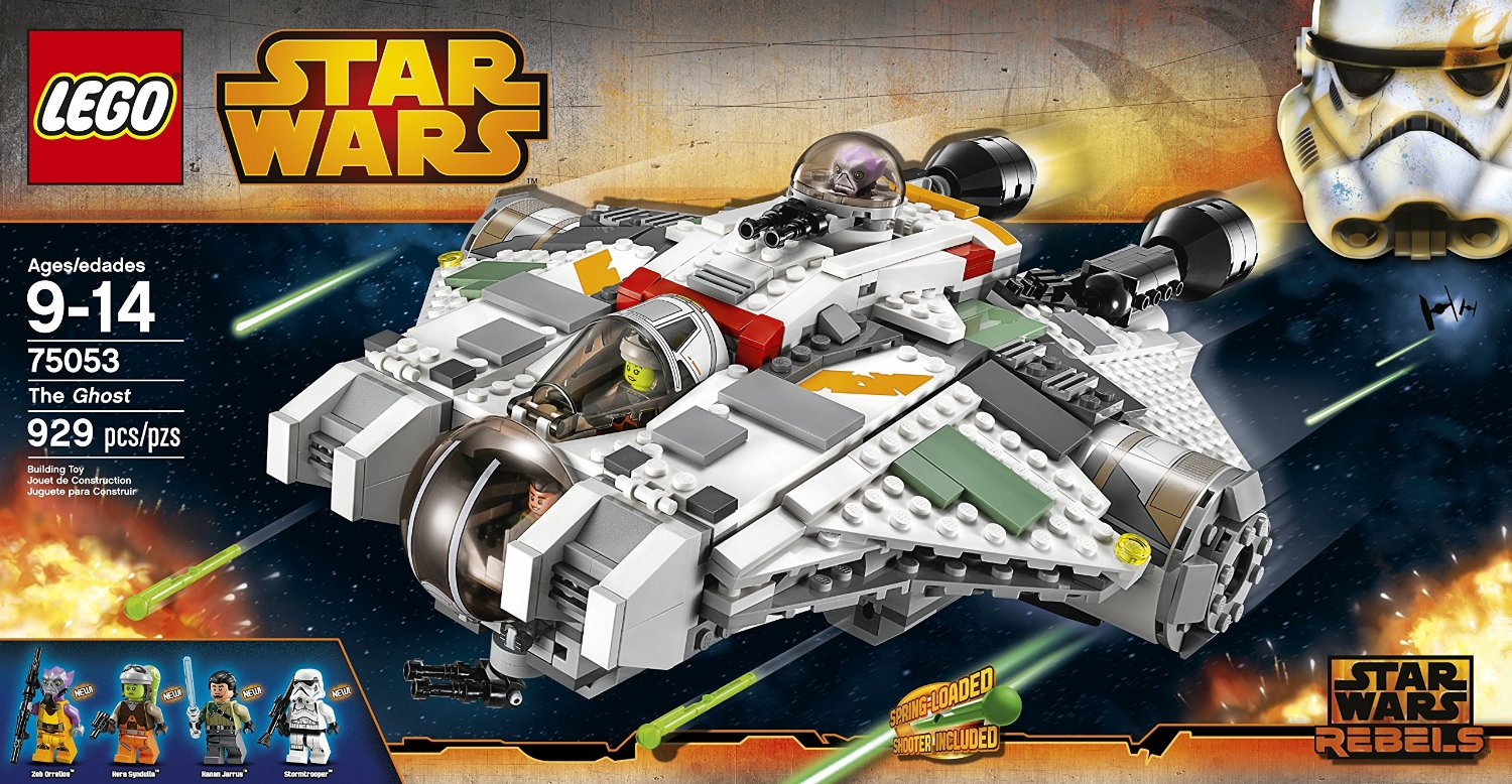 Star Wars: Rebels 75053 The Ghost - New Ship and New ...